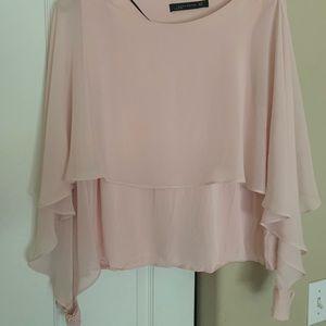 Light pink Zara blouse